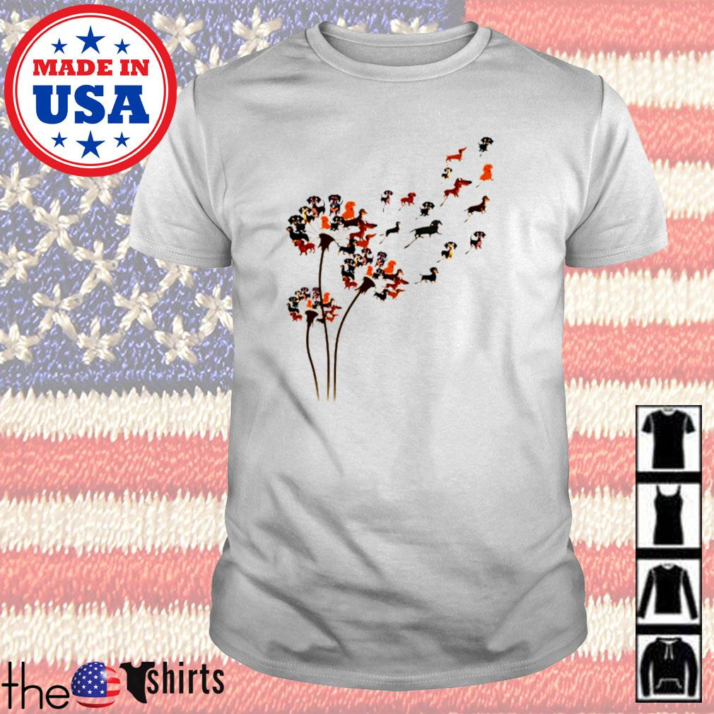 Dachshund dandelion shirt