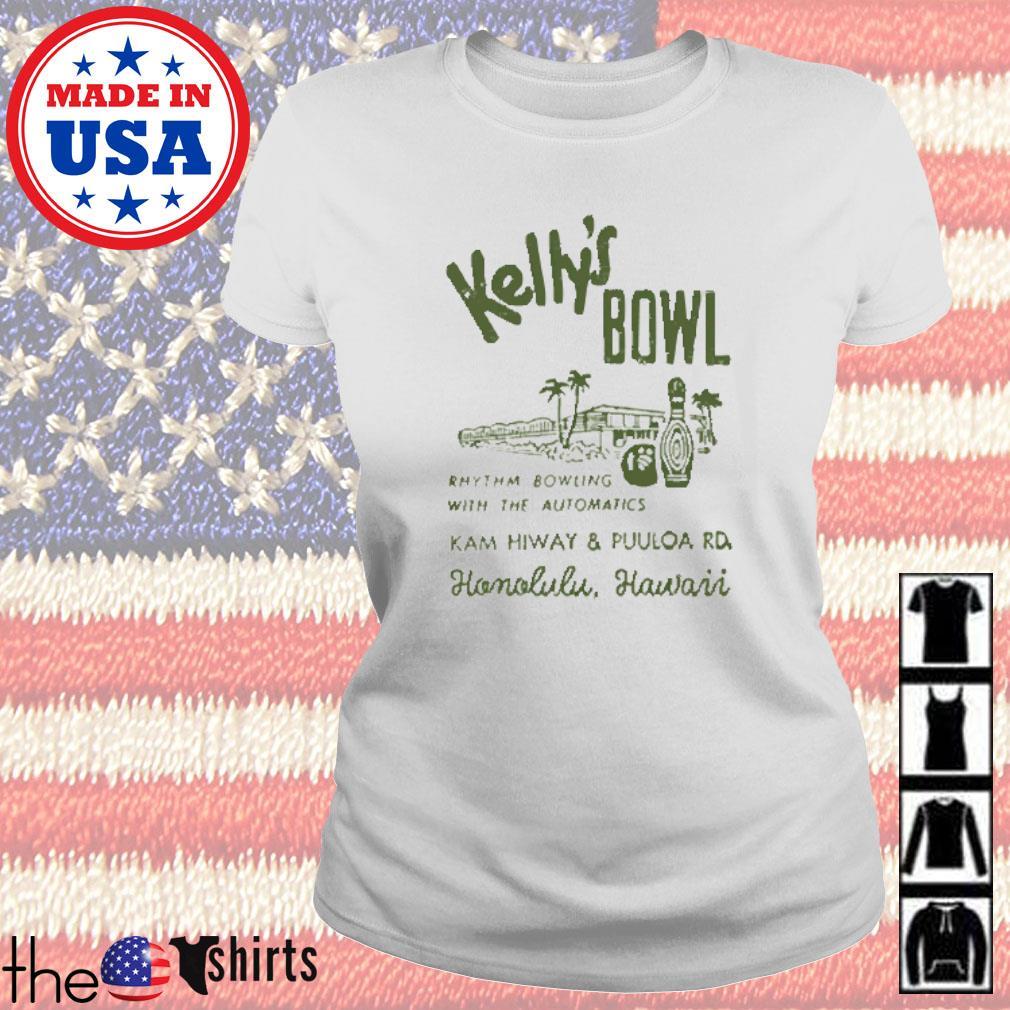 Kelly's bowl Rhythm bowling with the automatics Honolulu Hawaii s Ladies tee