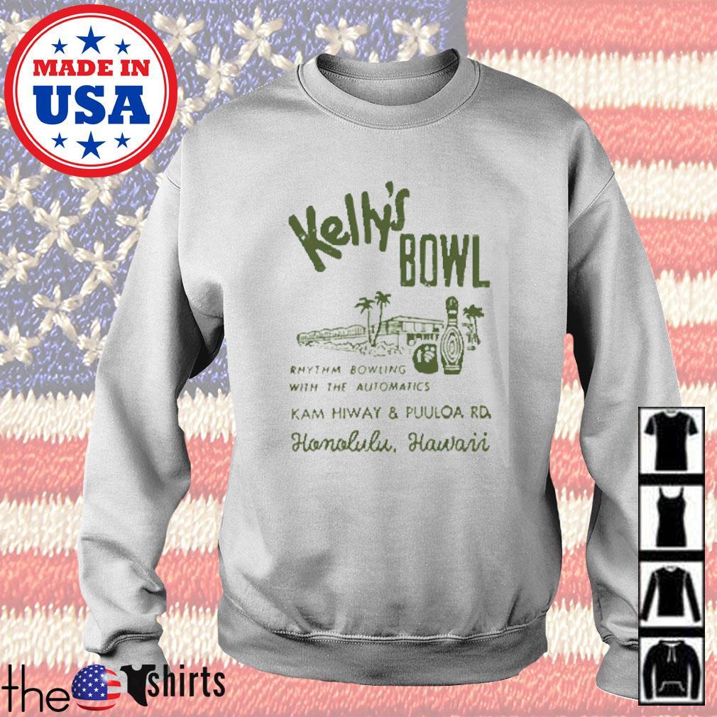 Kelly's bowl Rhythm bowling with the automatics Honolulu Hawaii s Sweater