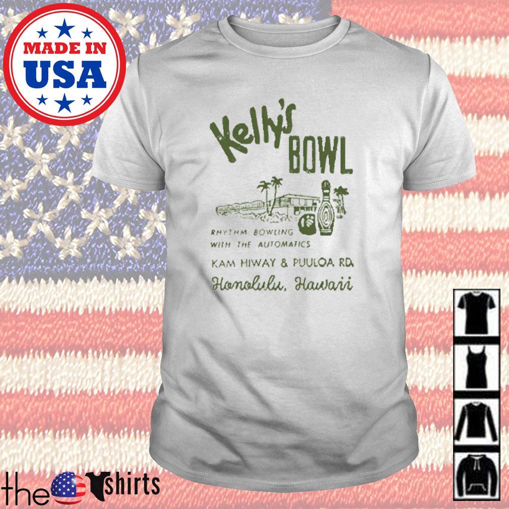 Kelly's bowl Rhythm bowling with the automatics Honolulu Hawaii shirt
