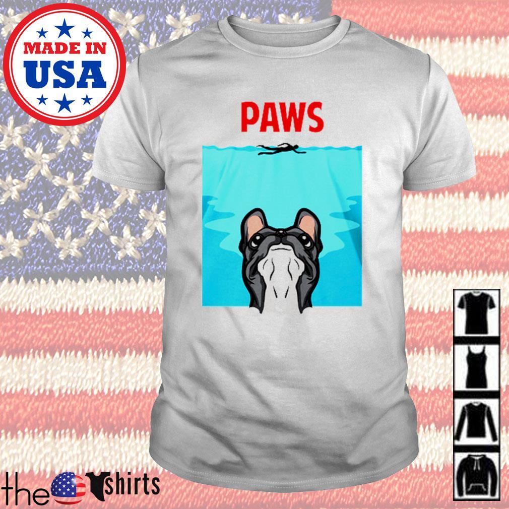 Paws french bulldog shirt