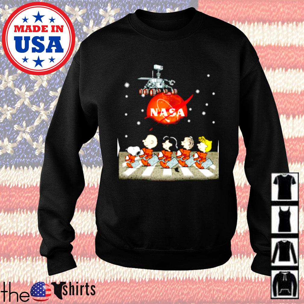 The Peanuts Snoopy and Friends Abbey Road Nasa mars s Sweater