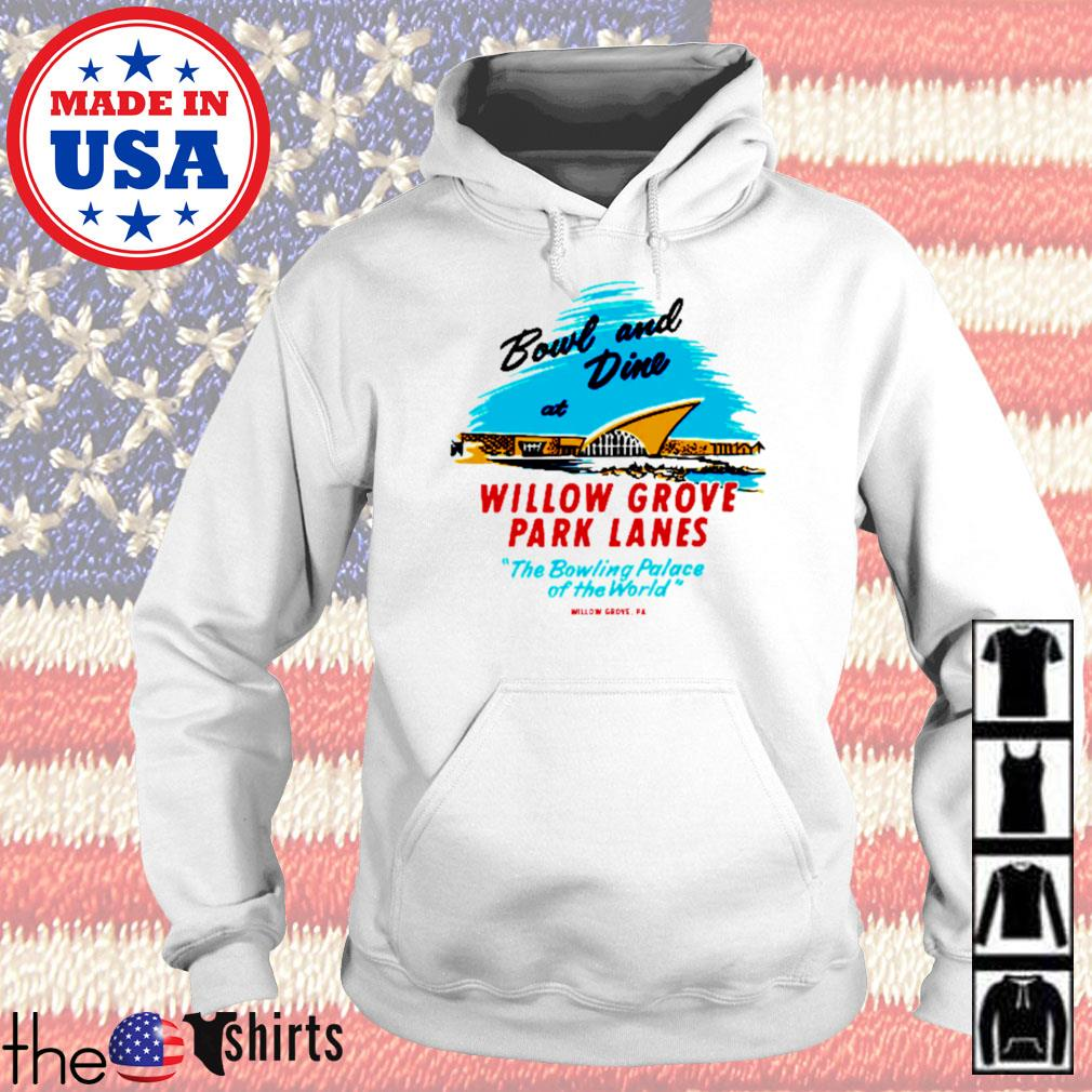 Willow grove park lanes willow grove pa vintage bowling alley s Hoodie
