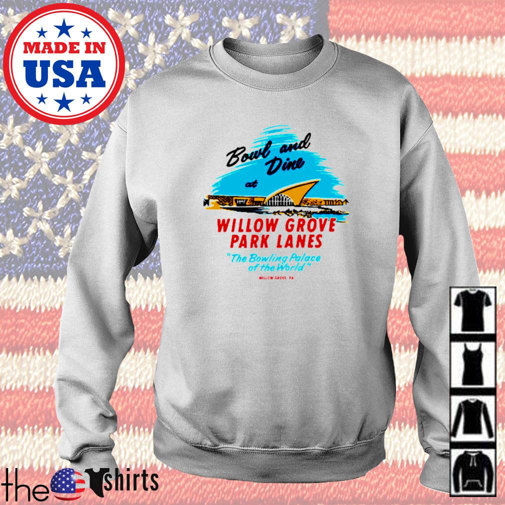 Willow grove park lanes willow grove pa vintage bowling alley s Sweater