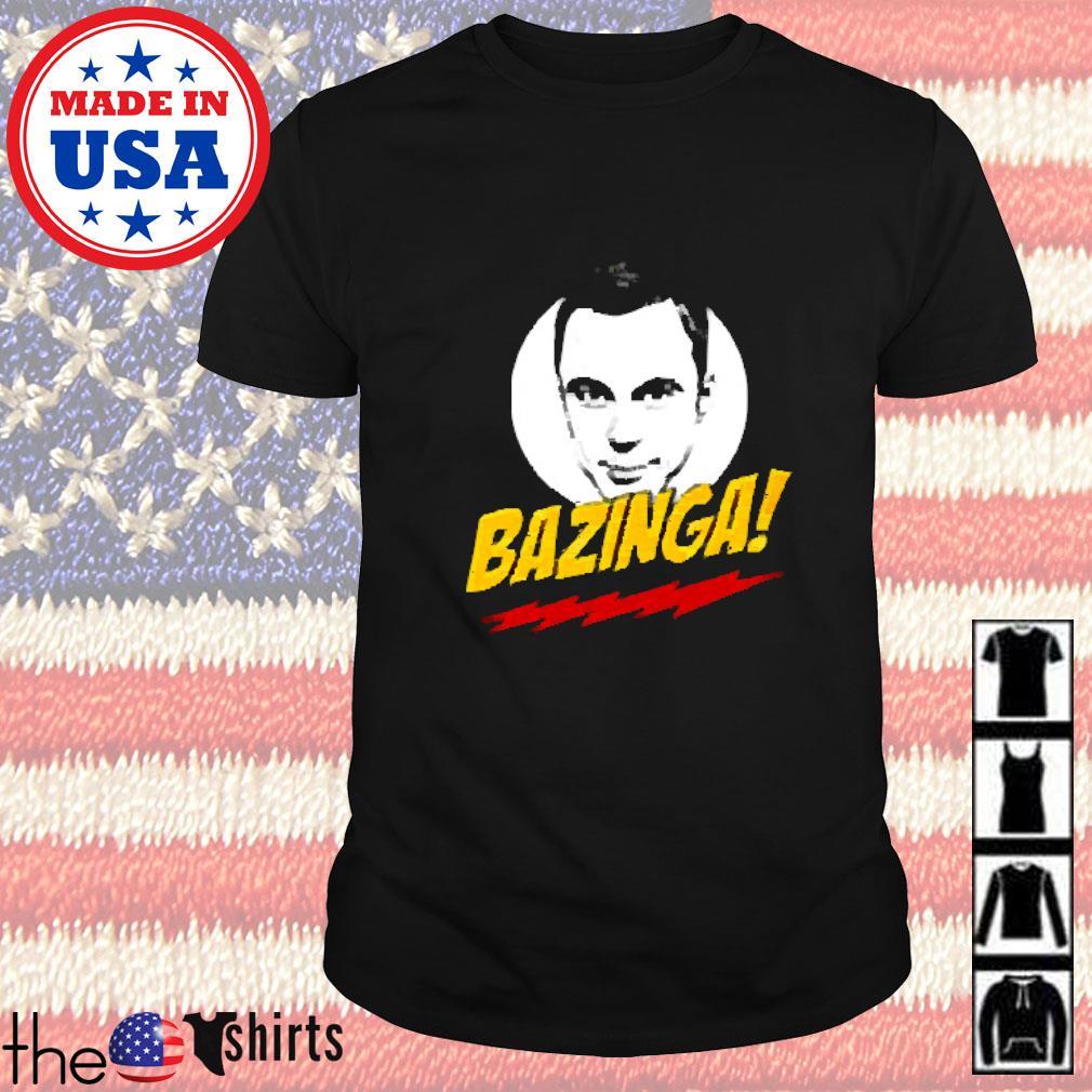 Big Bang Theory Bazinga Sheldon shirt