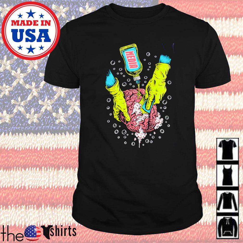 Brainwashing media shirt