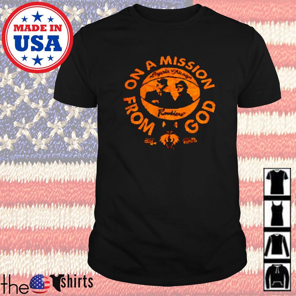 Loyola Chicago Ramblers basketball Blues Brothers shirt