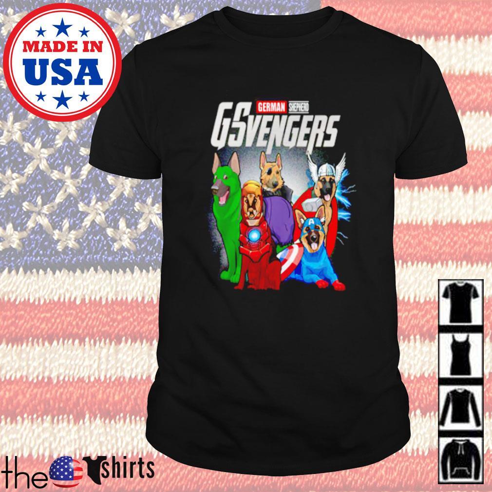 Marvel german shepherd GSvengers shirt
