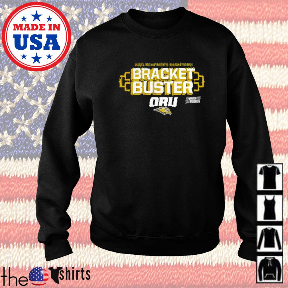 Oral roberts golden eagles fanatics branded 2021 ncaa men's basketball tournament march madness bracket buster Sweater