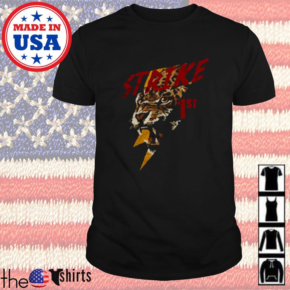 Strike 1st leopard shirt