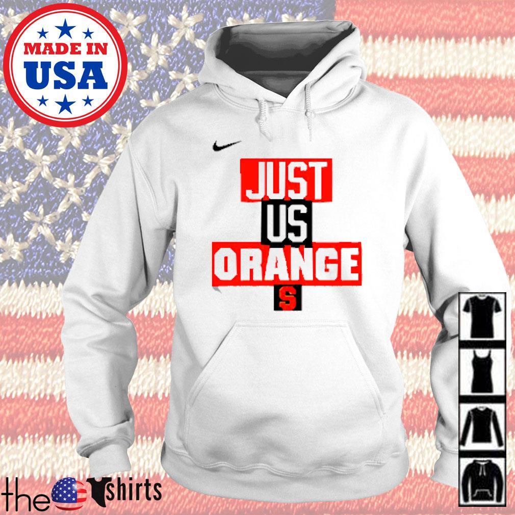 Syracuse Orange Nike basketball just us Hoodie