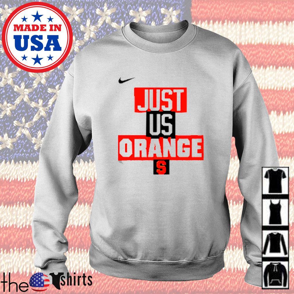 Syracuse Orange Nike basketball just us Sweater
