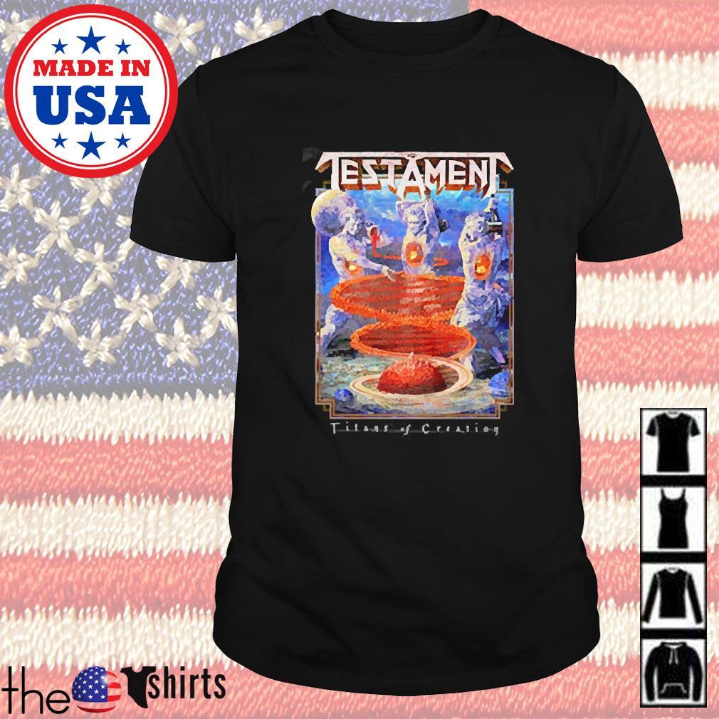 Testament 'Titans of creation shirt