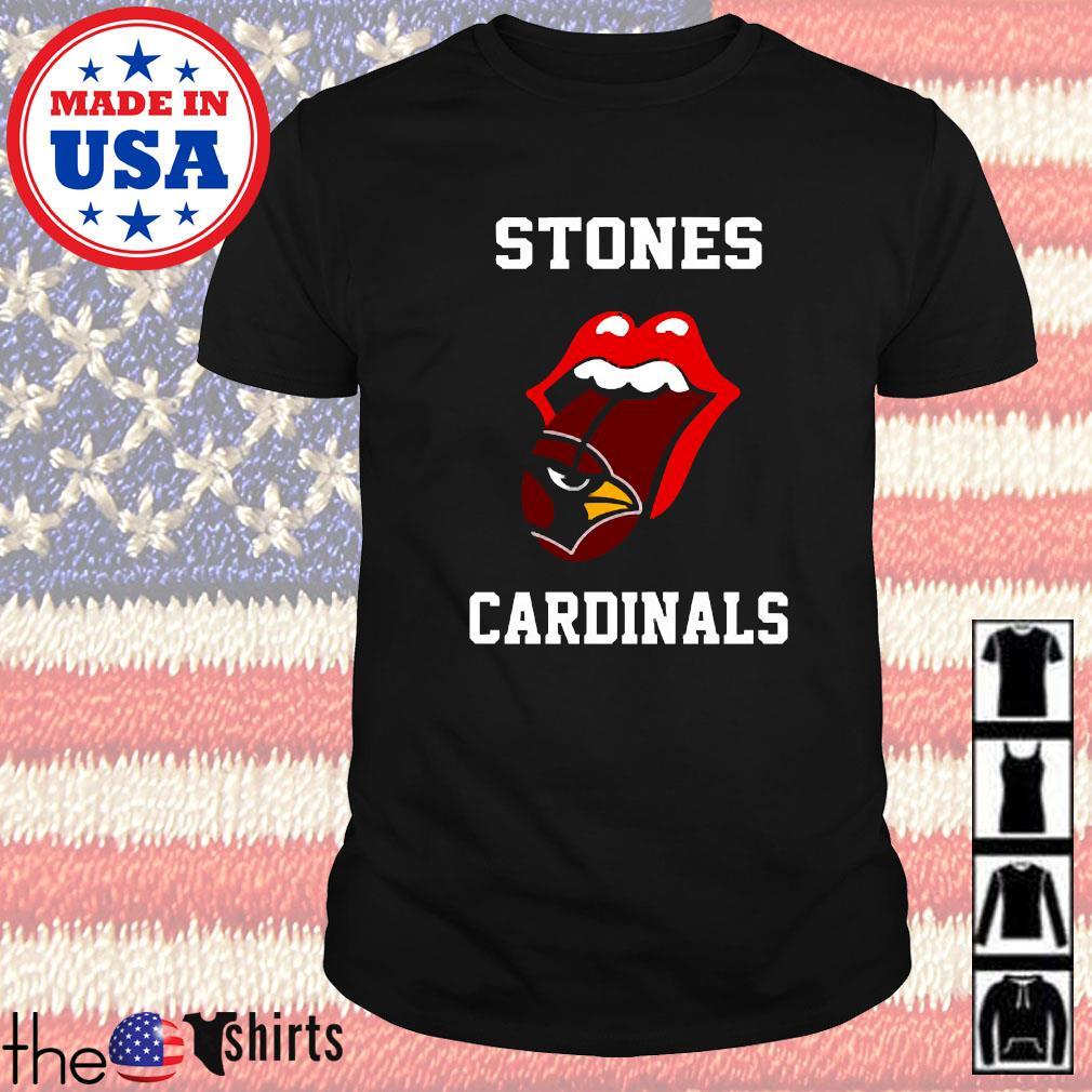 The Rolling Stones St. Louis Cardinals shirt