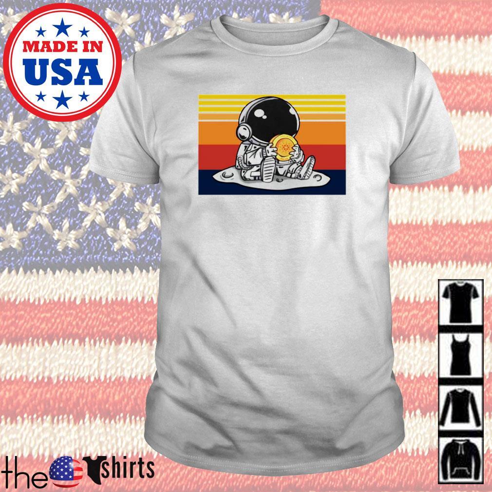 Vintage Astronaut hug cardano ada shirt