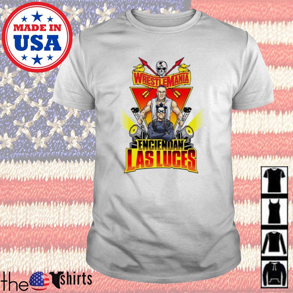 Bad Bunny and Damian Priest WrestleMania 37 Enciendan Las Luces shirt