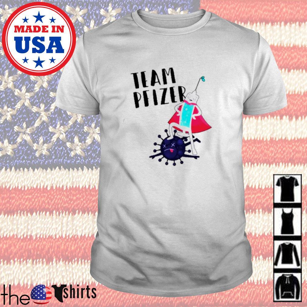 Covid-19 Vaccine Team Pfizer shirt