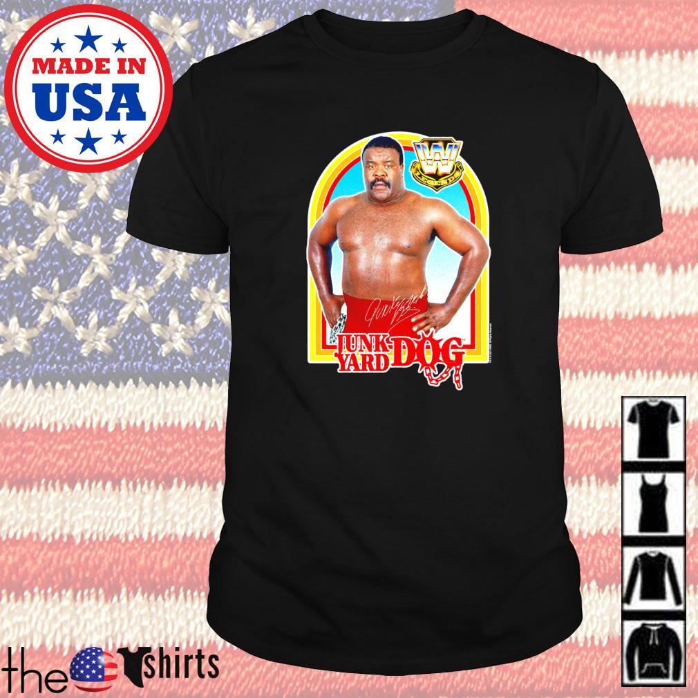 Junk Yard Dog wrestling shirt