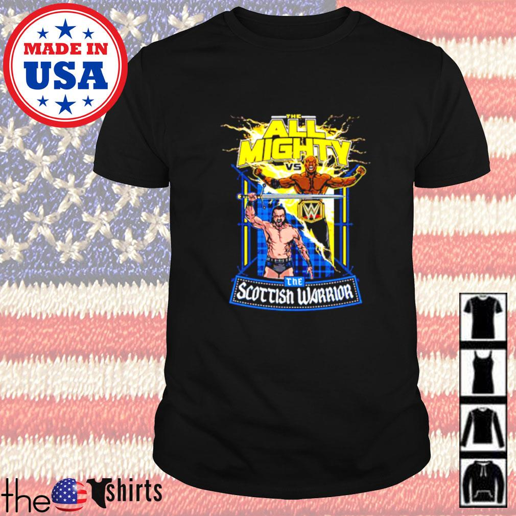 WrestleMania 37 Bobby Lashley vs Drew McIntyre match up shirt