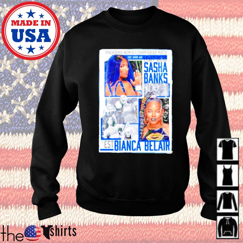WrestleMania 37 Sasha Banks vs Bianca Belair Match up Sweater