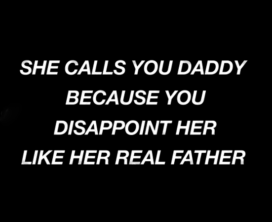 She calls you daddy because you disappoint her like her real father shirt