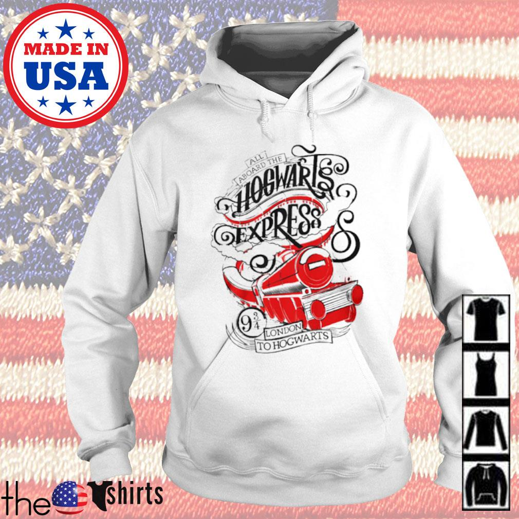 All aboard the Hogwarts express London to Hogwarts Hoodie