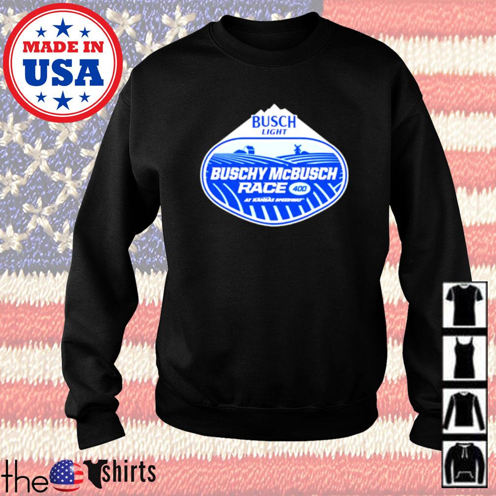 Busch Light Buschy McBusch Race 400 Sweater