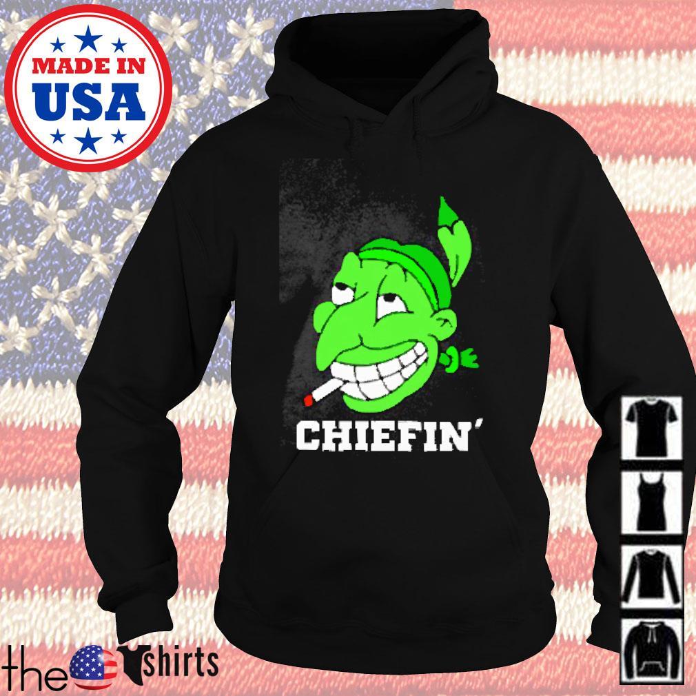 Chiefin' smoke marijuana Hoodie