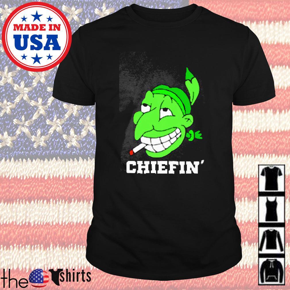 Chiefin' smoke marijuana shirt