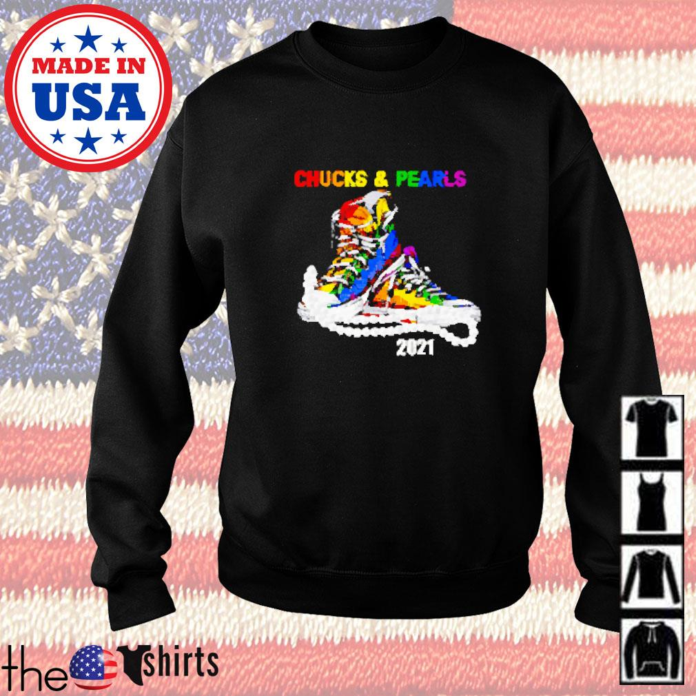 Chucks and pearls 2021 Sweater