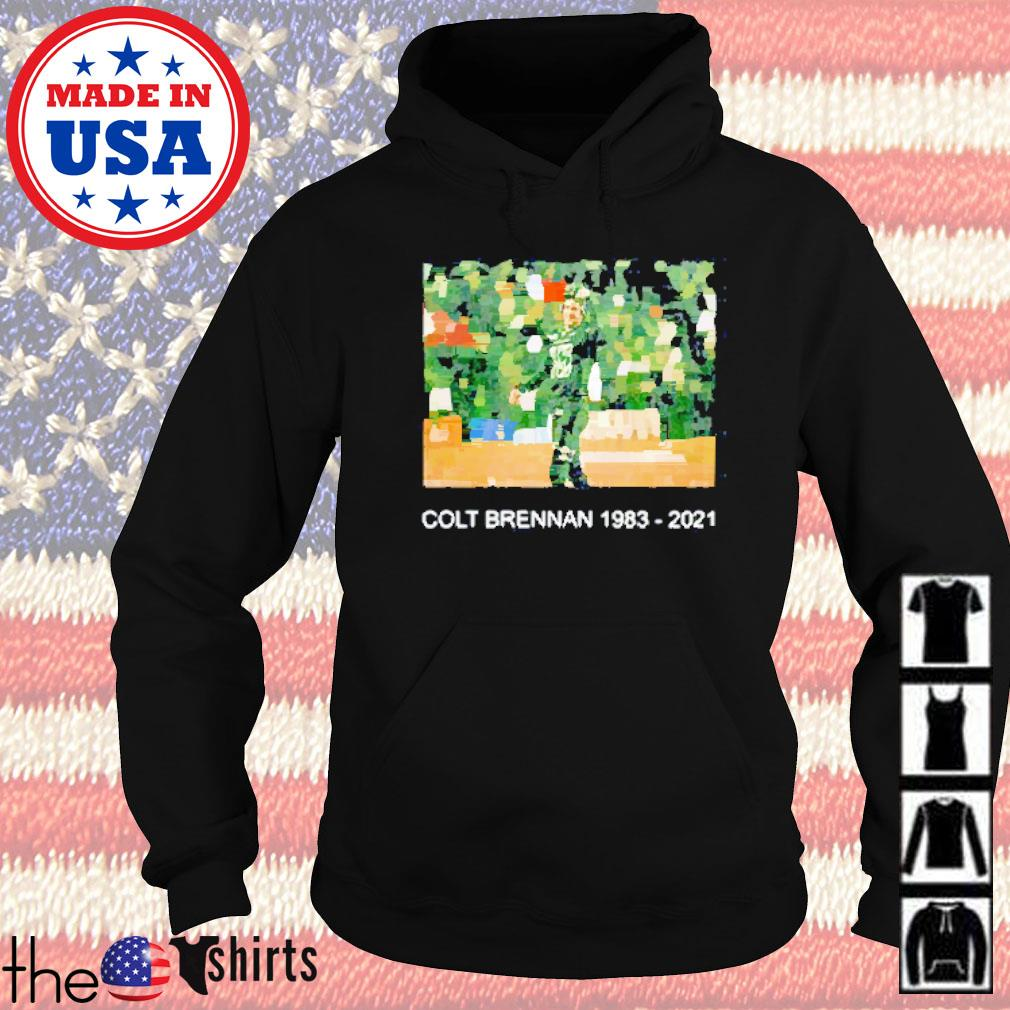 Colt brennan 1983-2021 #15 thank you for all memories Hoodie