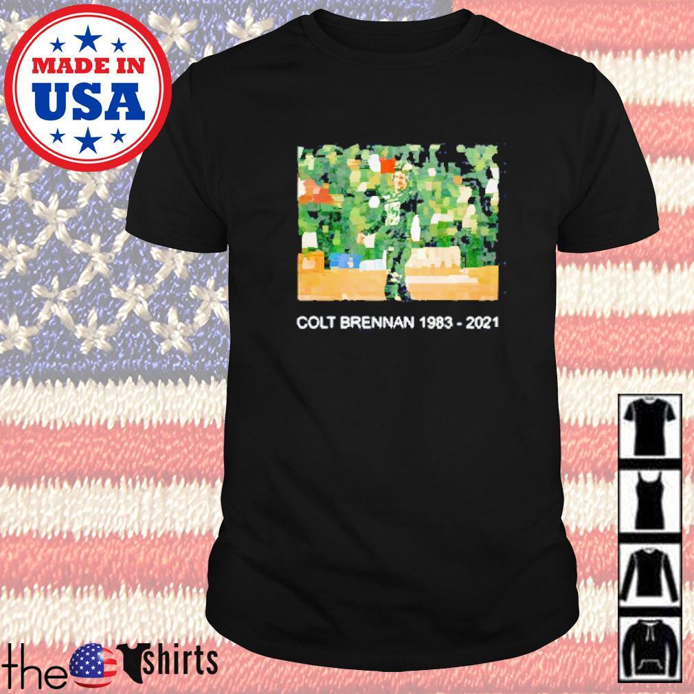 Colt brennan 1983-2021 #15 thank you for all memories shirt