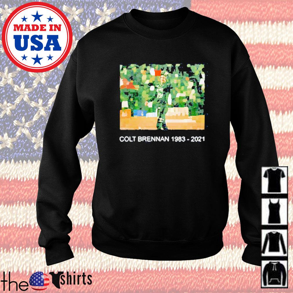 Colt brennan 1983-2021 #15 thank you for all memories Sweater