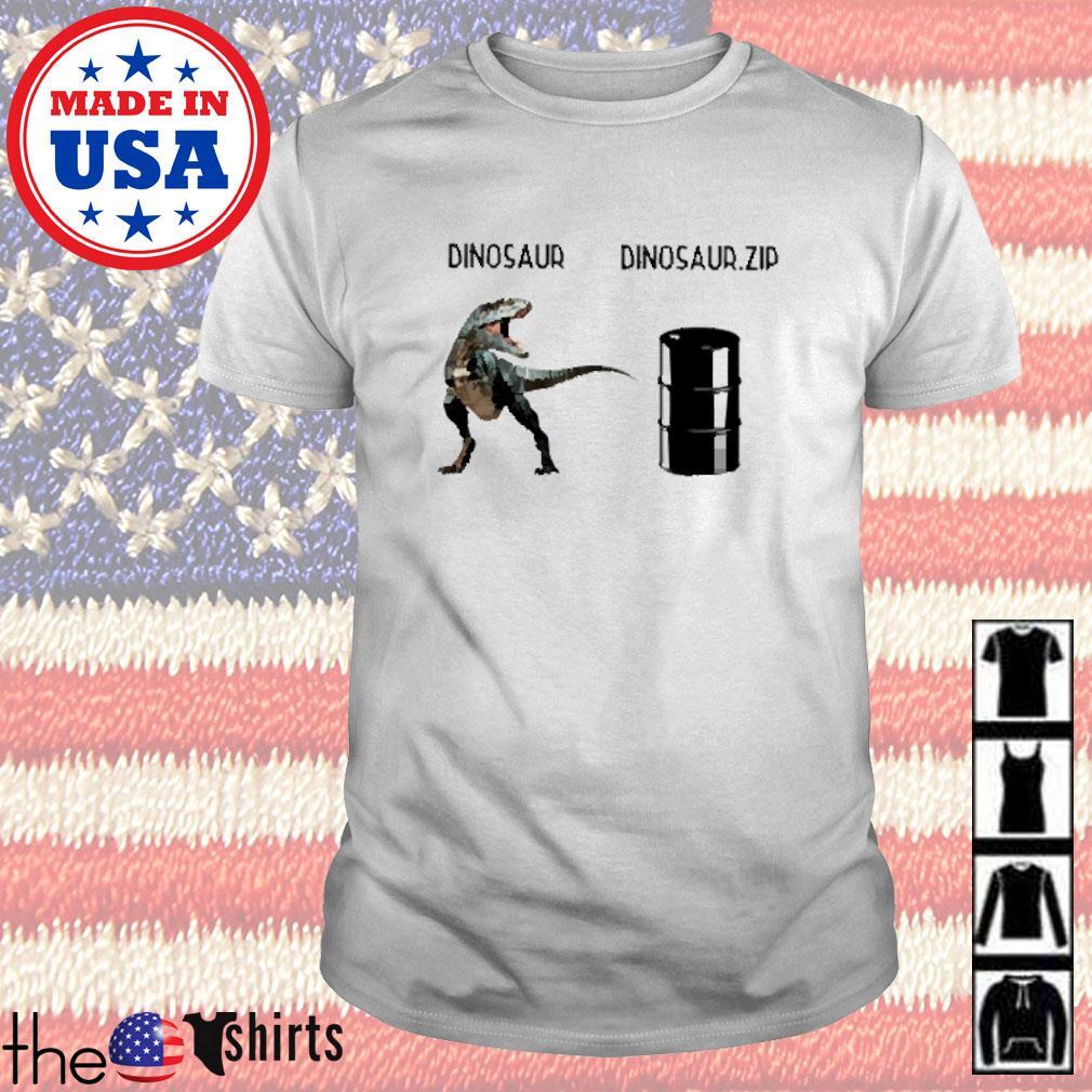 Dinosaur and Dinosaur Zip shirt