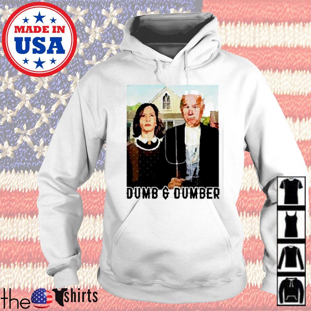 Dumb And Dumber Biden Harris Hoodie