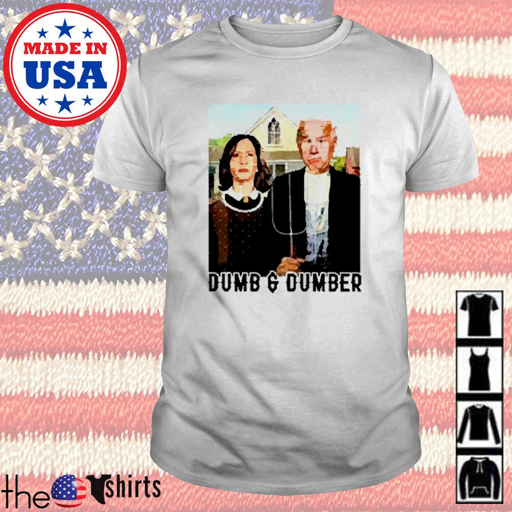 Dumb And Dumber Biden Harris shirt