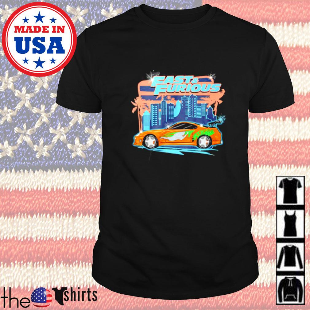 Fast and Furious car racing street shirt