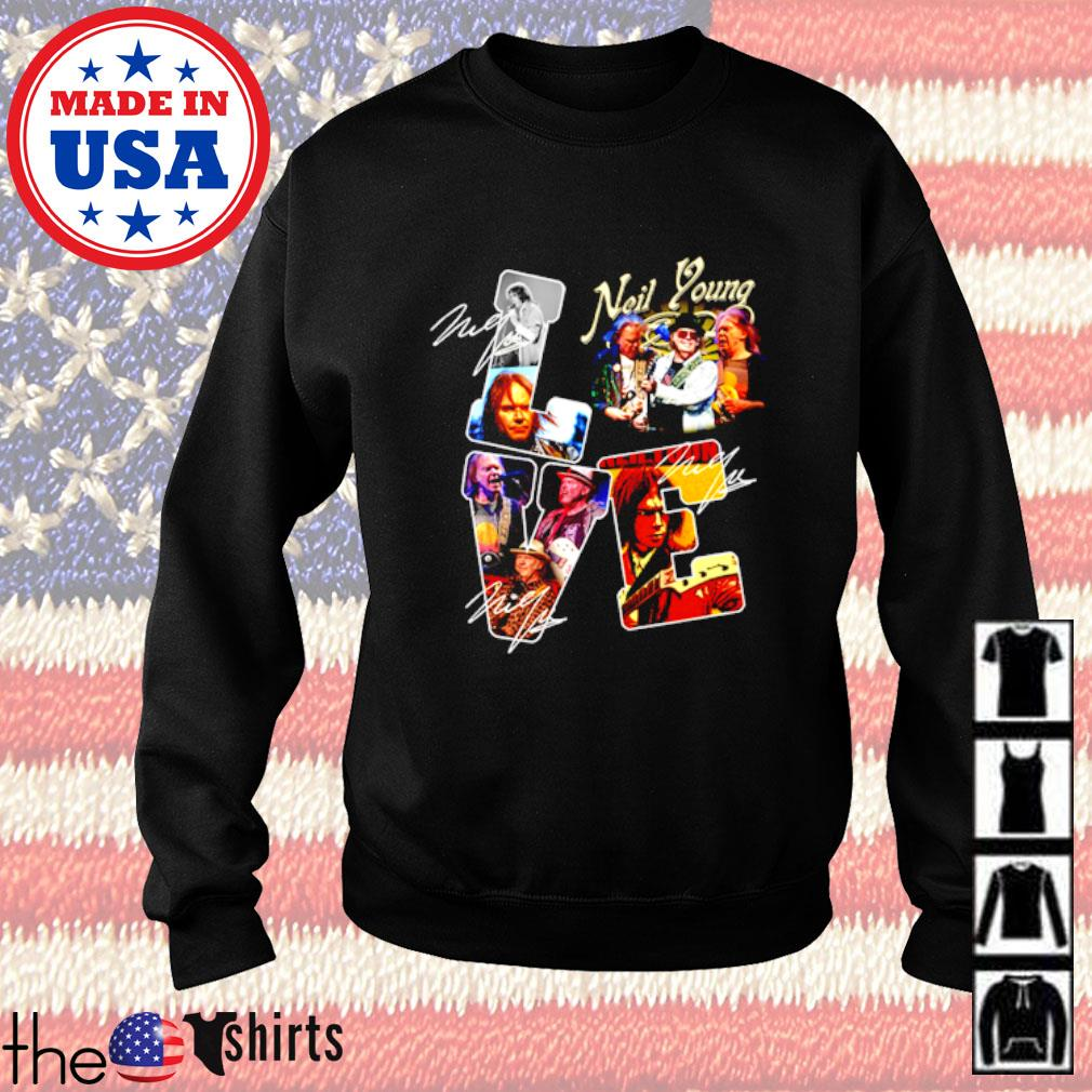 Love Neil Young signature Sweater