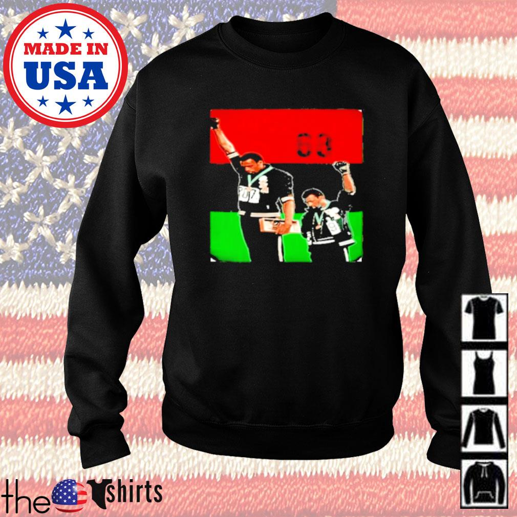 Olympic Rebellion 1968 Colorful Sweater