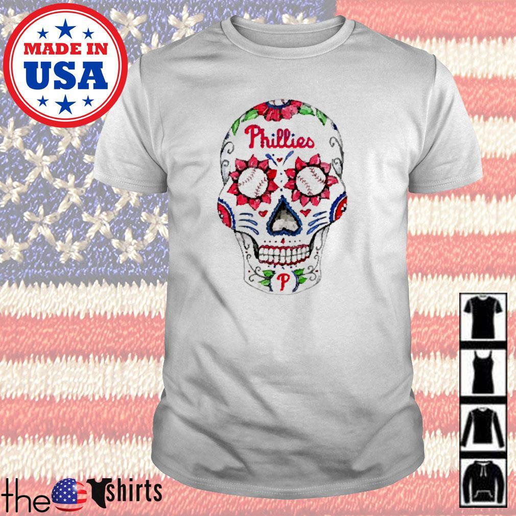 Philadelphia Phillies Sugar Skull shirt