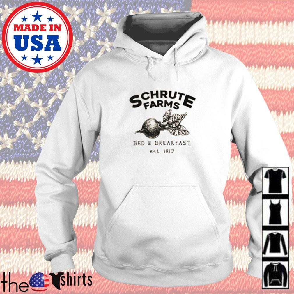 Schrute Farms bed and breakfast est 1812 Hoodie