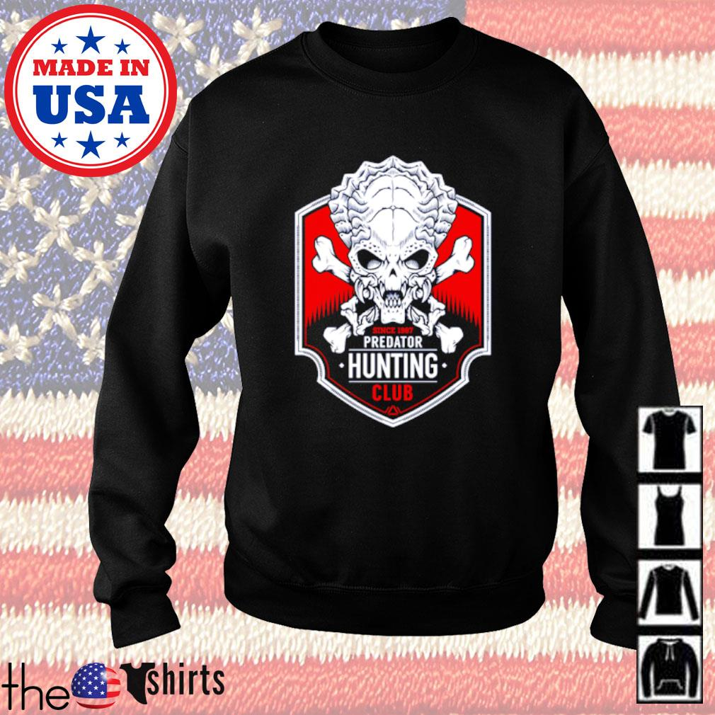 Since 1987 predator hunting club Sweater