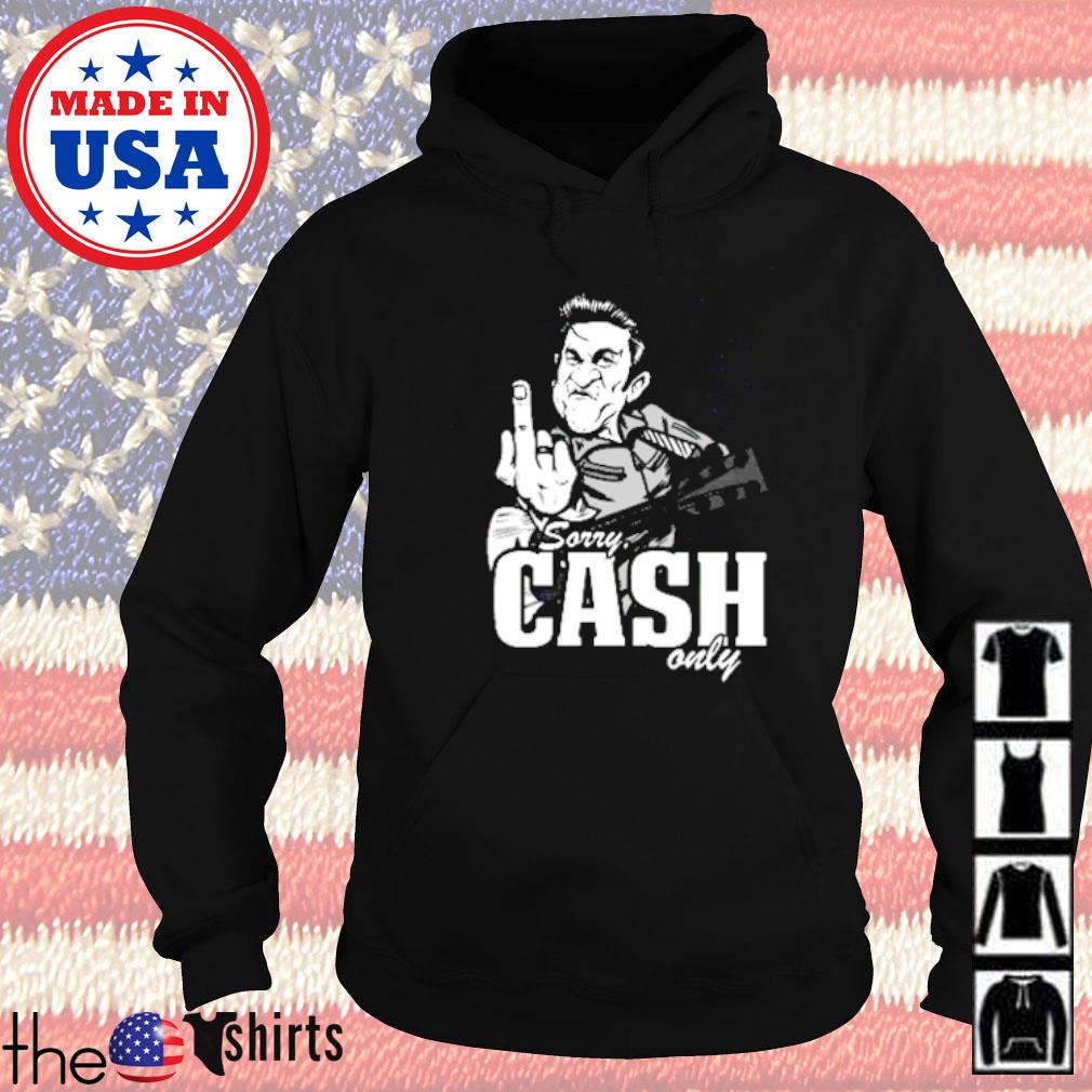 Sorry cash only guitar Hoodie