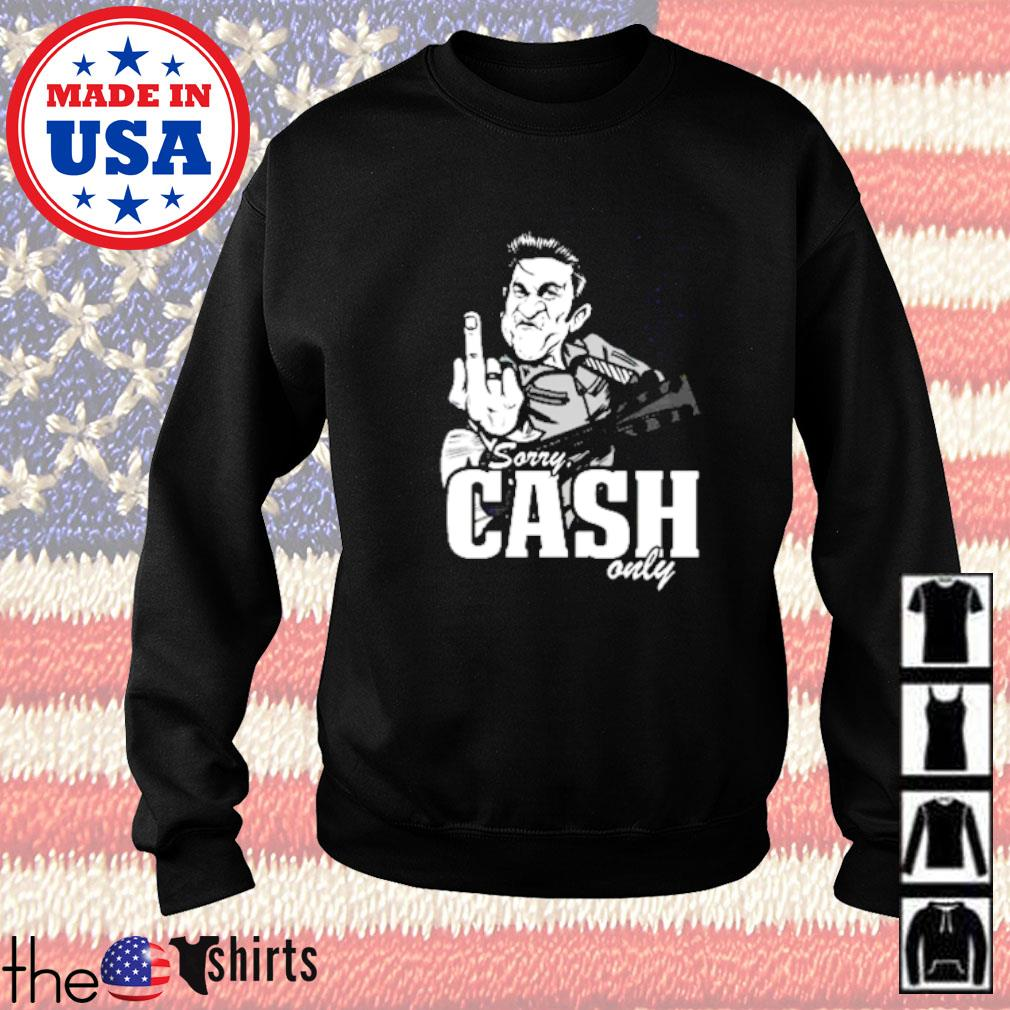 Sorry cash only guitar Sweater