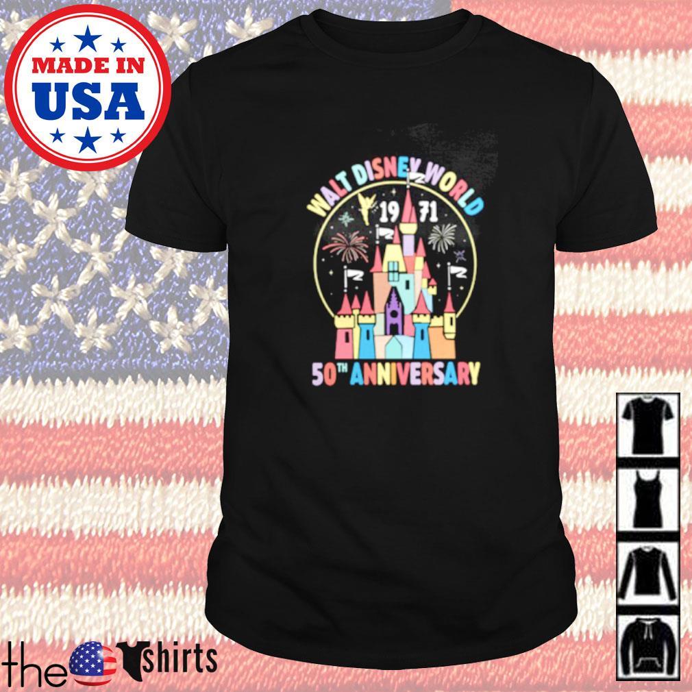 Walt disney world 1971 50th anniversary shirt