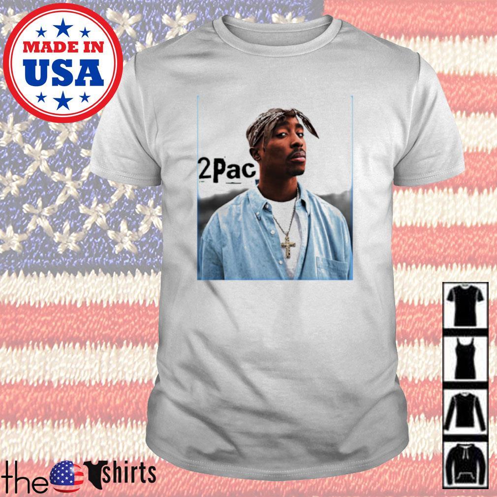 2Pac Tupac Shakur rapper shirt