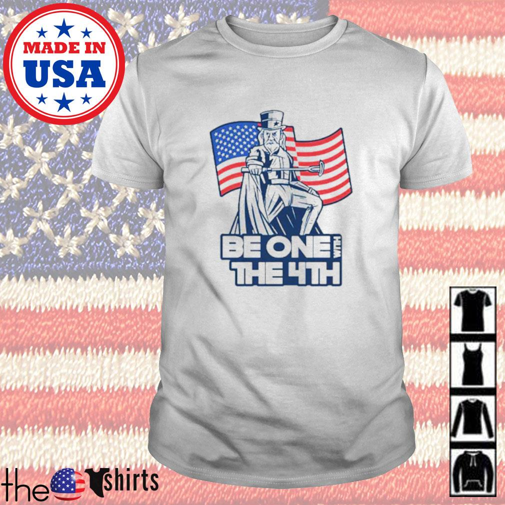 Be one with the 4th American flag shirt
