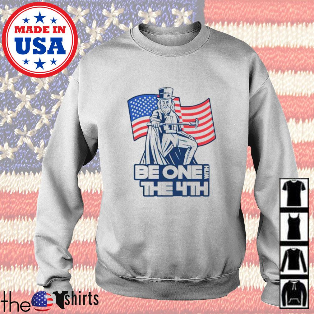 Be one with the 4th American flag Sweater