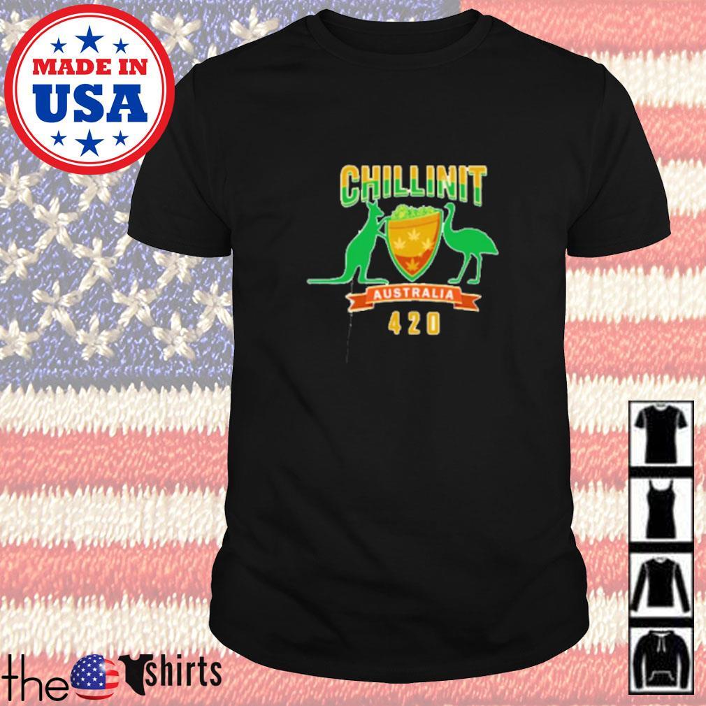 Chillinit merch beanie Australia 420 shirt