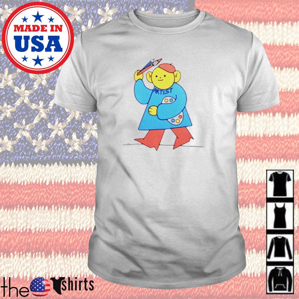 I am artist bear shirt